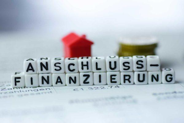 Immobilienfinanzierung, Anschluss-Finanzierung, Umschuldung