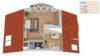 Endlich Platz – außergewöhnlich große Wohnung mit 3 Balkonen - Grundriss Ebene 2