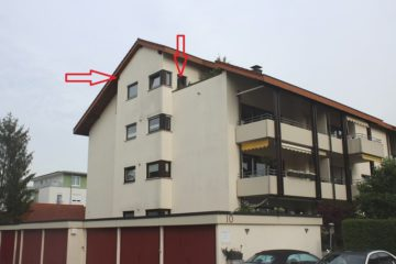 ++VERKAUFT++  Große 3-Zi.-DG-Wohnung mit Garage in Rheinfelden, 79618 Rheinfelden, Dachgeschosswohnung