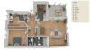 ++ SOFORT FREI++ Renovierte 3-Zi.-Wohnung in Steinen - Grundriss