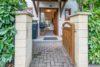++VERKAUFT++ Klassischer Baustil + moderner Chic = exklusives Reihenendhaus - Eingang