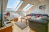 ++VERKAUFT++  Große 4,5 Zi.-Wohnung: Ambiente plus Dachloggia - Wohnzimmer