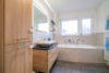 ++VERKAUFT++  Endlich eine große Wohnung mit Stil, Ambiente und Garten - Badezimmer