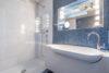 ++RESERVIERT++ Stadtwohnung in LÖ-Stetten mit Wow-Effekt, Dachterrasse, Traumblick und mehr - Badezimmer