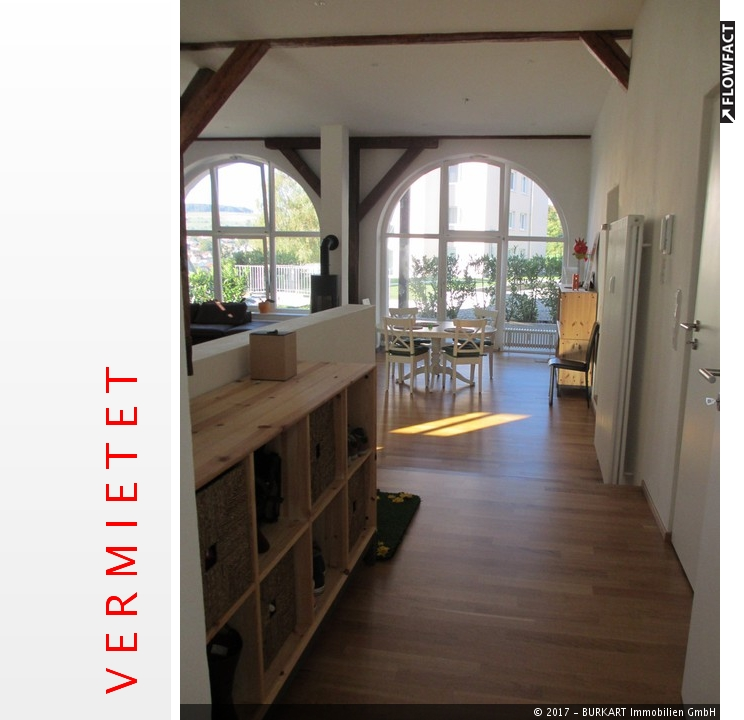 ++VERMIETET++  MODERNES WOHNEN UNTER DER BURG – Große TOP-3-Zi.-Wohnung mit Loftcharakter in Lörrach, 79541 Lörrach (Haagen), Etagenwohnung