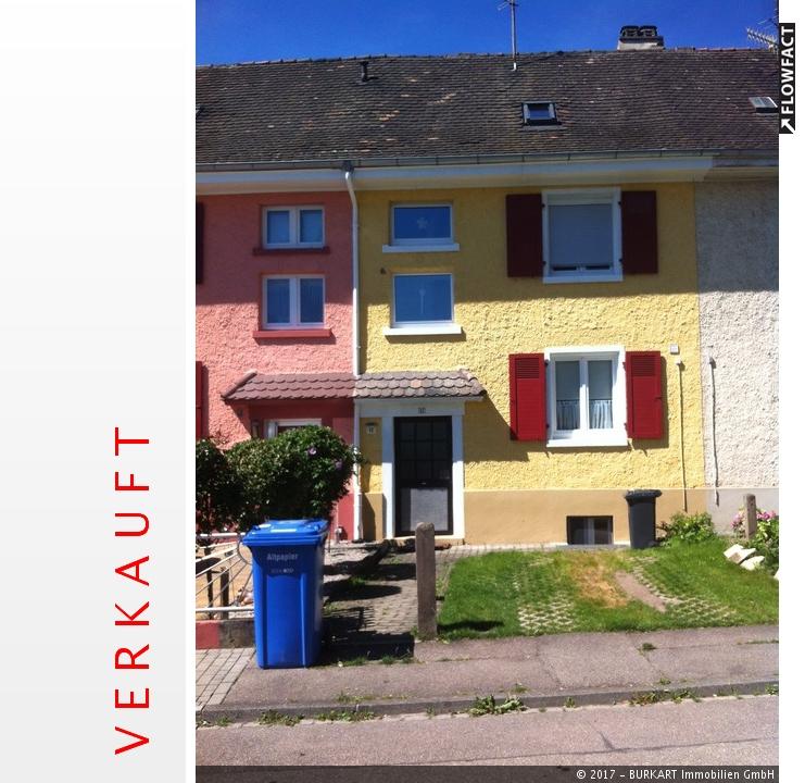 ++VERKAUFT++   Renoviertes Reihenhaus in Weil-Haltingen, 79576 Weil am Rhein (Haltingen), Reihenhaus