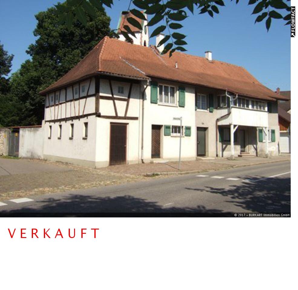 ++VERKAUFT++   Ein- bis Zweifamilienhaus im Herzen von Altweil, 79576 Weil am Rhein (Altweil), Einfamilienhaus