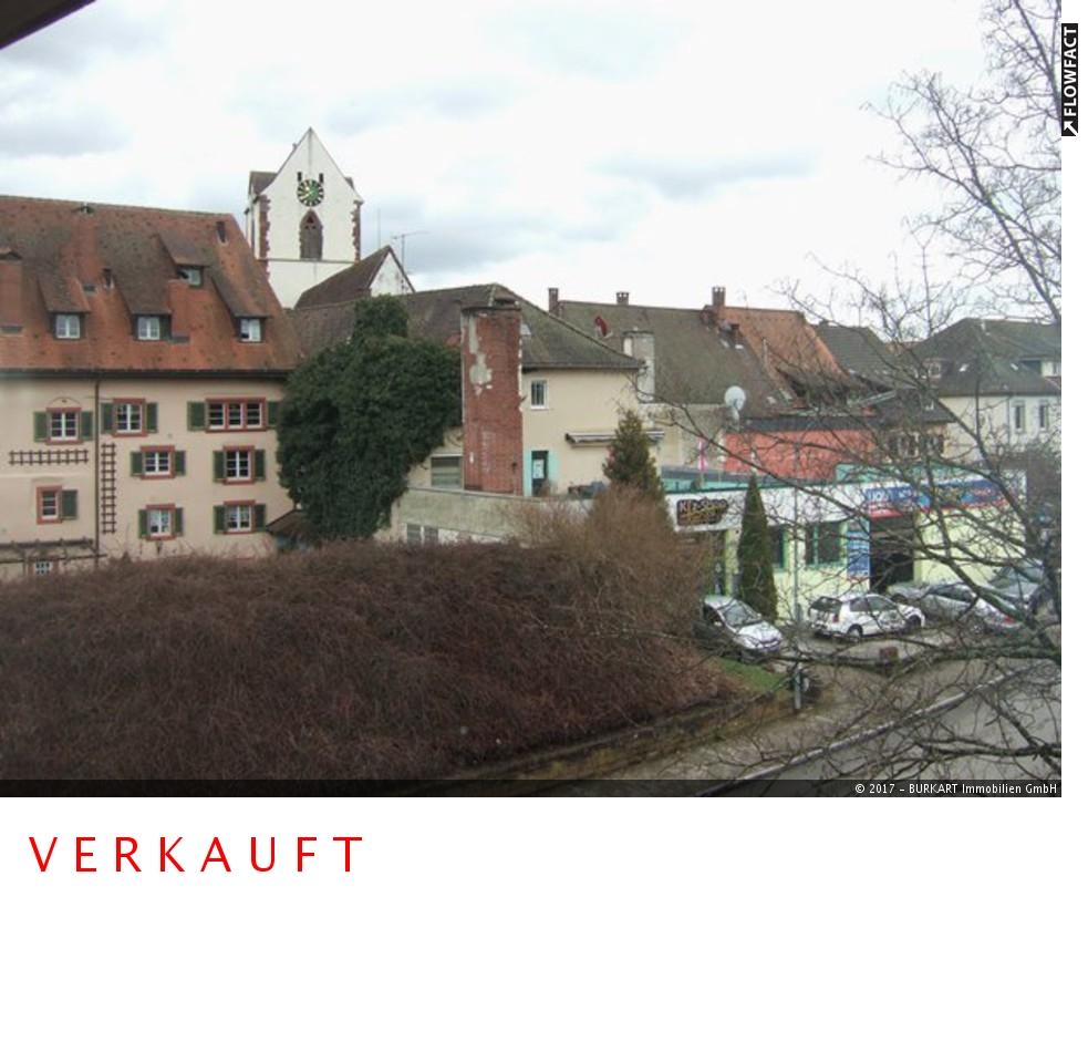 ++VERKAUFT++   1-Zi.-Eigentumswohnung in zentraler Lage von Schopfheim, 79650 Schopfheim, Etagenwohnung