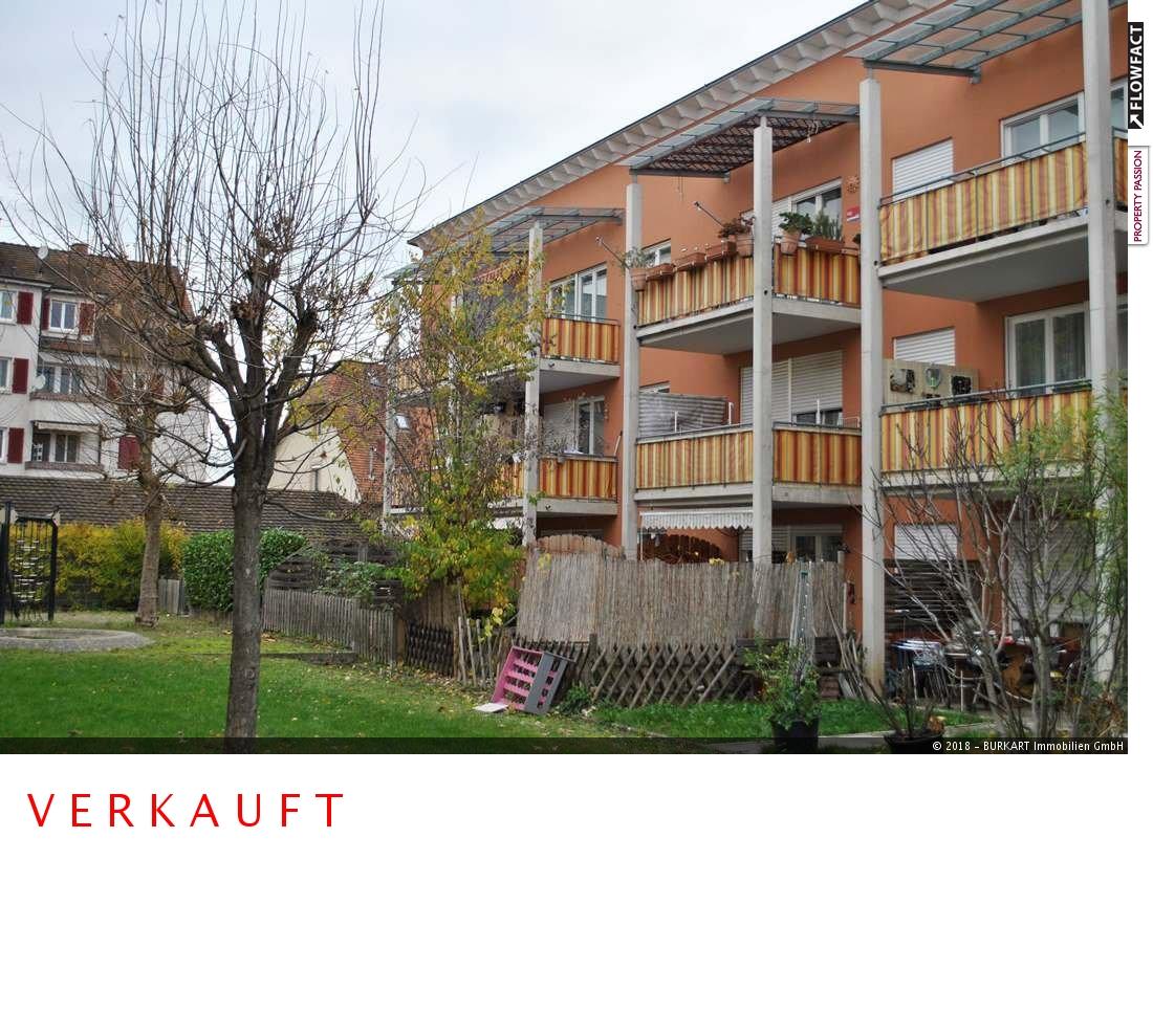 ++VERKAUFT++  3-Zi.-Eigentumswohnung mit Gartenanteil in Weil am Rhein (Friedlingen), 79576 Weil am Rhein (Friedlingen), Erdgeschosswohnung