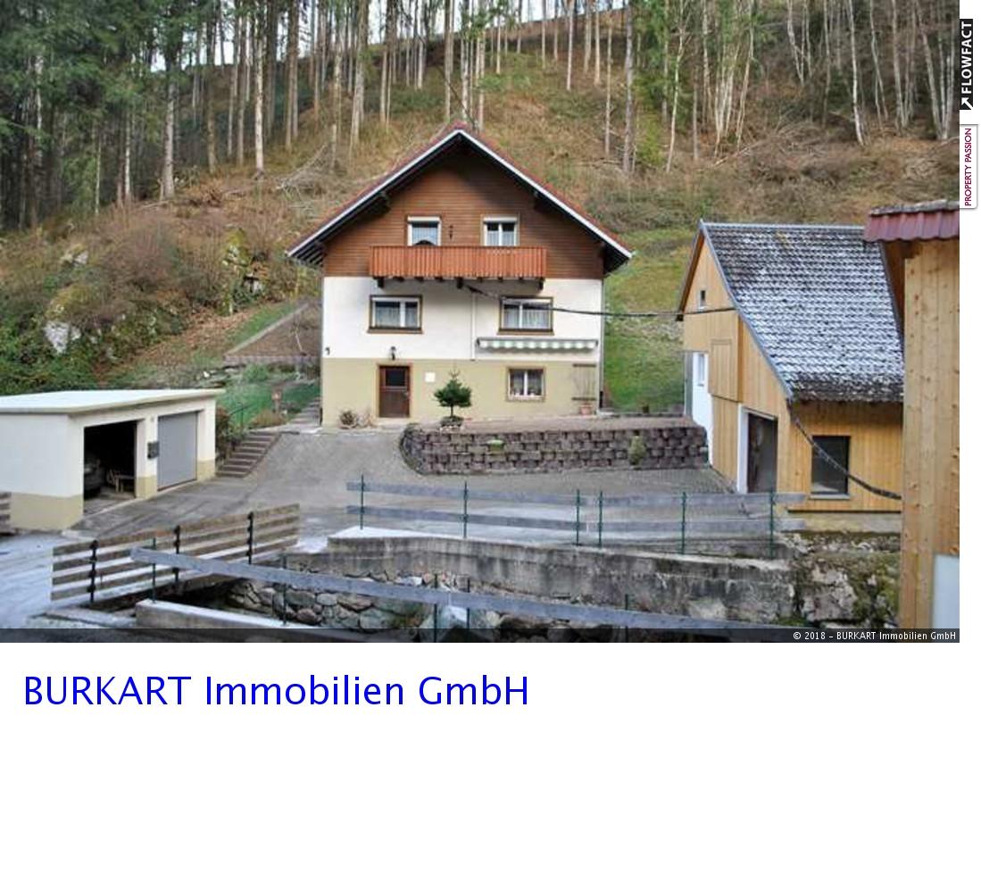 Einfamilienhaus mit eigenem Wasserkraftwerk in Häg-Ehrsberg, 79685 Häg-Ehrsberg, Einfamilienhaus