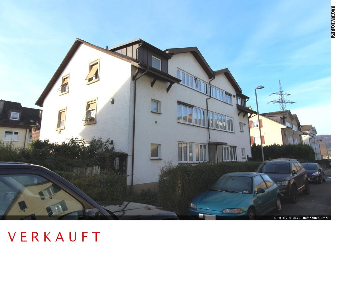 ++VERKAUFT++  3-Zi.-DG-Wohnung mit Gartenanteil in Lörrach (Hauingen), 79541 Lörrach (Hauingen), Dachgeschosswohnung