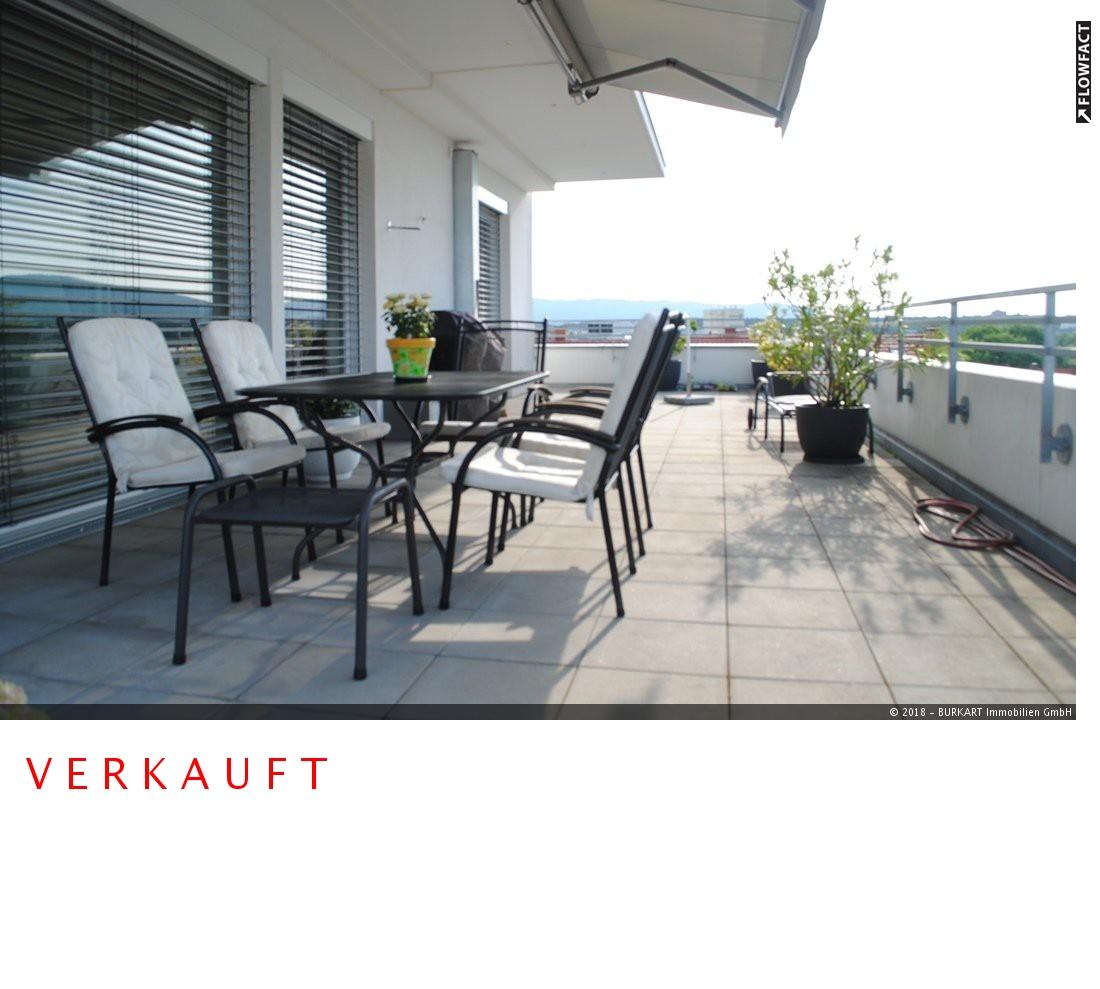 ++VERKAUFT++  Modern wohnen, exklusiv leben, weit blicken! Penthouse in Citylage – Rheinfelden, 79618 Rheinfelden, Penthousewohnung