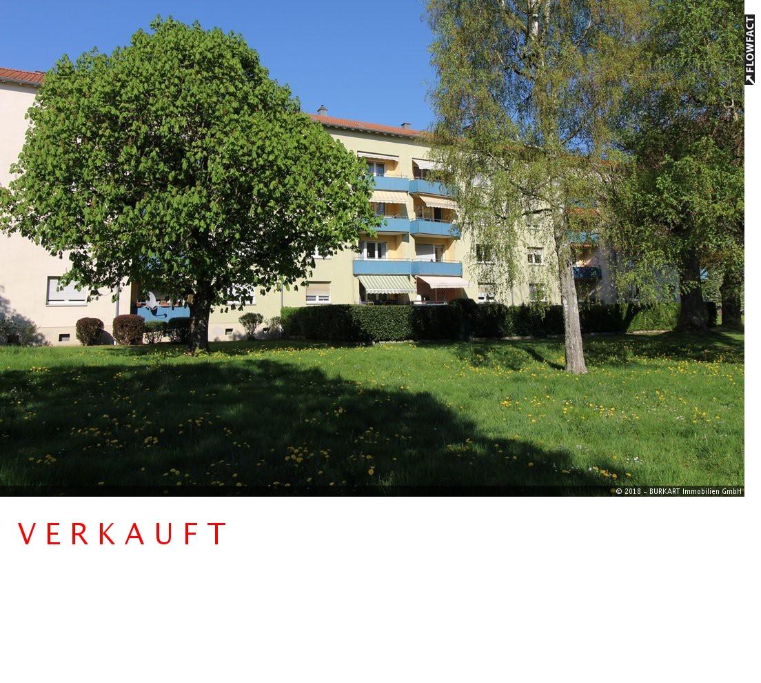++VERKAUFT++  Schick & modern! 3-Zi.-Whng. im Grünen. Plus Balkon mit Parkblick in Rheinfelden, 79618 Rheinfelden, Etagenwohnung