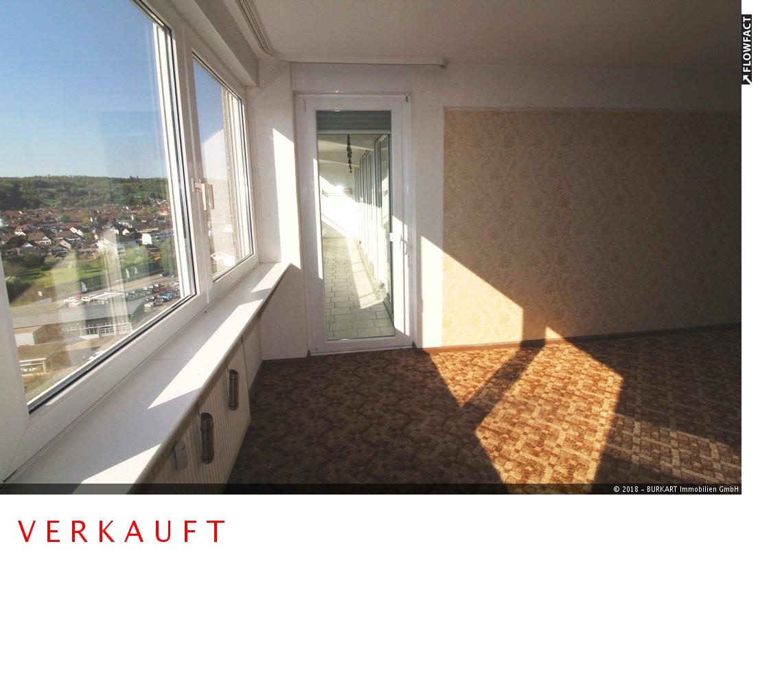 ++VERKAUFT++  Wohnen mit Traumblick! 3-Zi. mit großem Balkon in Rheinfelden, 79618 Rheinfelden, Etagenwohnung