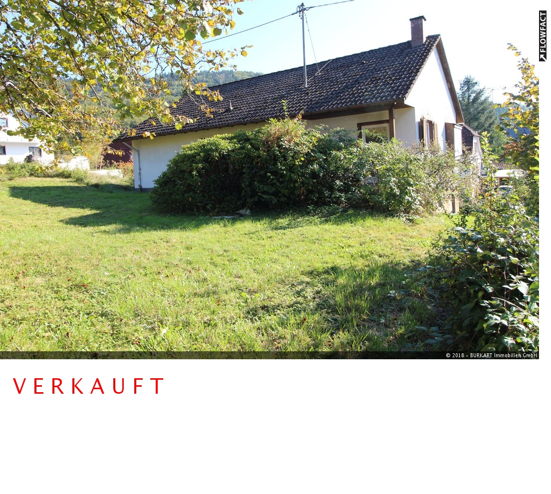++VERKAUFT++  Freistehendes sanierungsbedürftiges EFH mitten im Grünen in Steinen (Weitenau), 79585 Steinen (Weitenau), Einfamilienhaus